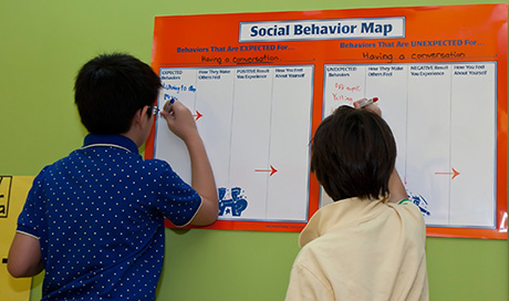 Social Thinking ® is a cognitive behavioral intervention